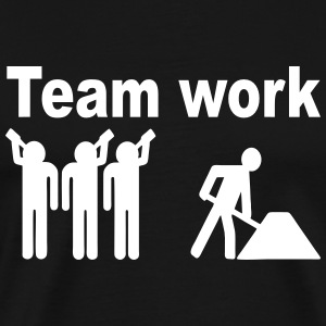 teamwork worker T-Shirts - Men's Premium T-Shirt