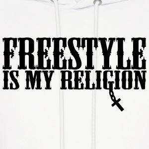 freestyle is my religion Hoodies - Men's Hoodie