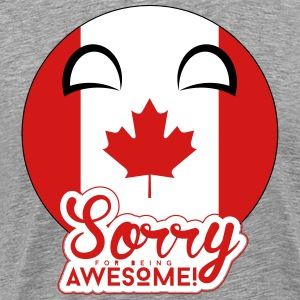 Sorry Canadaball - Men's Premium T-Shirt