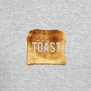 New Age Toast Grey Crewneck - Crewneck Sweatshirt