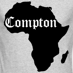 Compton Is Africa, Kendrick Inspiration Long Sleeve Shirts - Men's Long Sleeve T-Shirt by Next Level