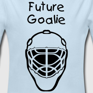 Future goalie - Long Sleeve Baby Bodysuit
