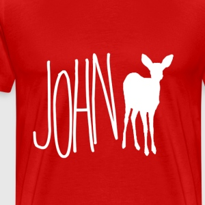 John Doe - m!Max (Life is Strange) Wht Ver. - Men's Premium T-Shirt