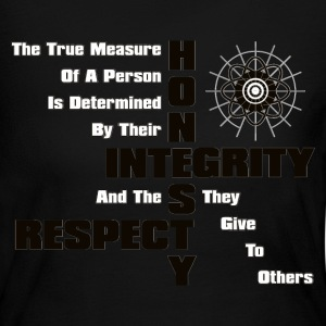 Honesty Integrity Respect Women's Long Sleeve - Women's Long Sleeve Jersey T-Shirt