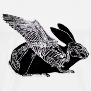 Flying Hare T-shirt. - Men's Premium T-Shirt