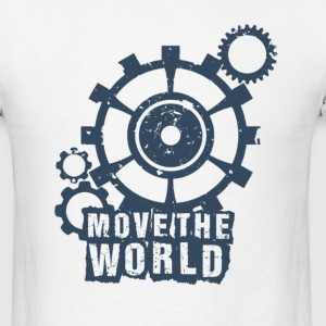 Move the World by TeeSnaps - Men's T-Shirt
