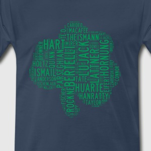 All Time Notre Dame Shamrock Football Greats Men's - Men's Premium T-Shirt
