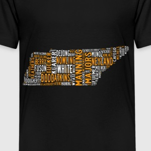 All Time Tennessee Football Greats Kid's Premium T - Kids' Premium T-Shirt