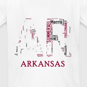 All Time Arkansas Football Greats AR Design Kid's  - Kids' T-Shirt