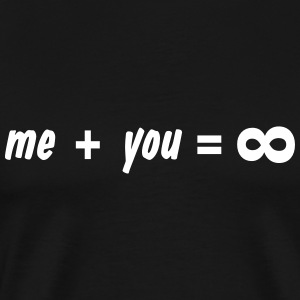 me and you forever T-Shirts - Men's Premium T-Shirt
