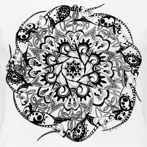Rat Mandala - Women's Premium T-Shirt
