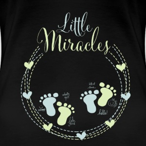 Little Miracles - Twins - Women's Premium T-Shirt