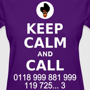 Keep Calm and Call - Women's T-Shirt