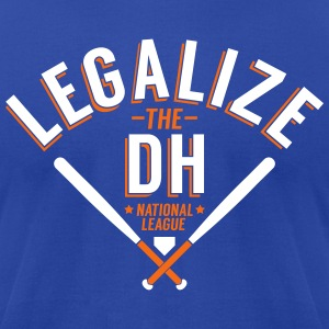 Legalize the DH (New York) - Men's T-Shirt by American Apparel