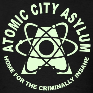 Atomic City Asylum - GitD - Men's T-Shirt