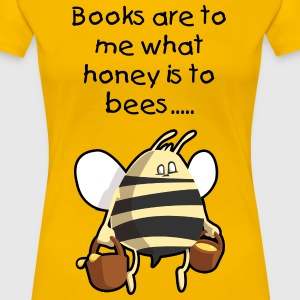 Book Lover's T Shirt - Women's Premium T-Shirt