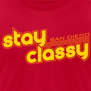 Stay Classy San Diego - Men's T-Shirt by American Apparel