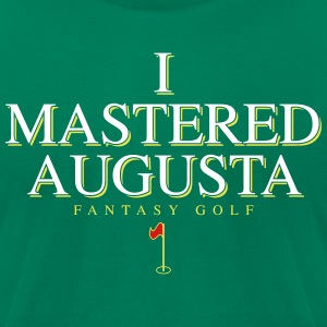 I Mastered Augusta - Men's T-Shirt by American Apparel