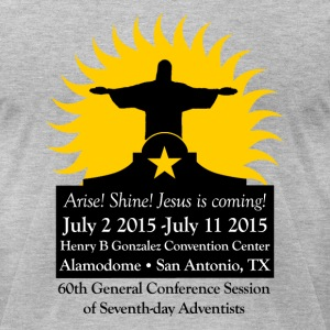 60th General Conference Of Seventh-day Adventist T - Men's T-Shirt by American Apparel