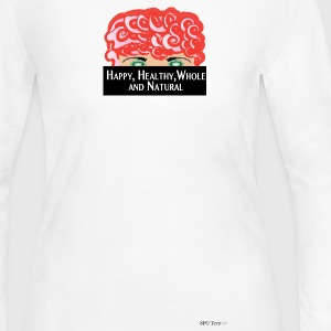 HHWN Long-Sleeve Tee - Red Head - Women's Long Sleeve Jersey T-Shirt