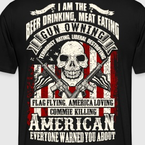 Beer Drinking Gun Owning T-Shirt | Spreadshirt