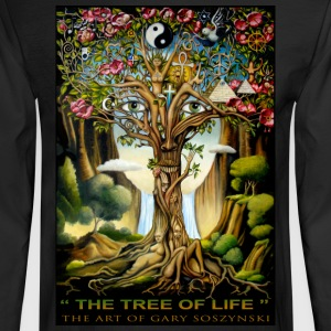 THE TREE OF LIFE   mens long sleeve - Men's Long Sleeve T-Shirt