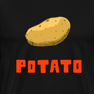 potato - Men's Premium T-Shirt