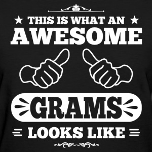 awesome grams looks like Women's T-Shirts - Women's T-Shirt