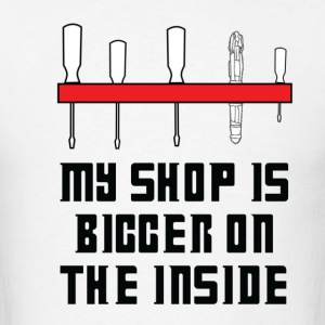 Bigger On The Inside T-Shirts - Men's T-Shirt