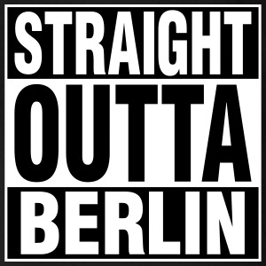 Straight Outta BERLIN Baby & Toddler Shirts - Short Sleeve Baby Bodysuit