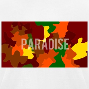 Paradise Autumn Box Logo Tee - Men's T-Shirt by American Apparel