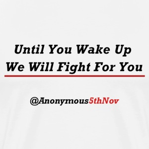 We Will Fight - Men's Premium T-Shirt