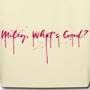 Miley, What's Good? — TOTE, CREME - Eco-Friendly Cotton Tote