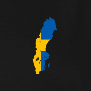 Flag of Sweden - Men's Tall T-Shirt