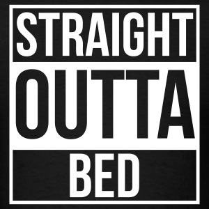 Straight Outta Bed - Men's T-Shirt
