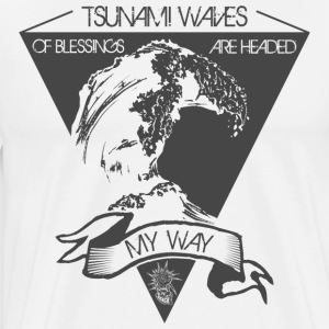 Tsunami of blessing - Men's Premium T-Shirt