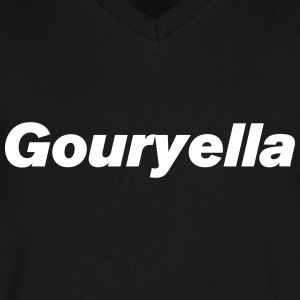 Gouryella V-neck shirt (Ferry Corsten) - Men's V-Neck T-Shirt by Canvas