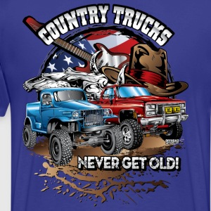 Country Off-Road Trucks T-Shirts - Men's Premium T-Shirt