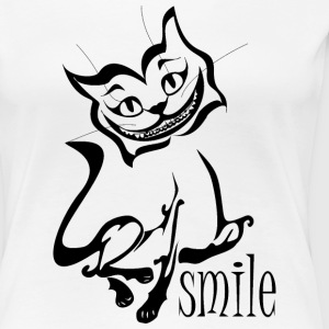 Braced smile - Women's Premium T-Shirt