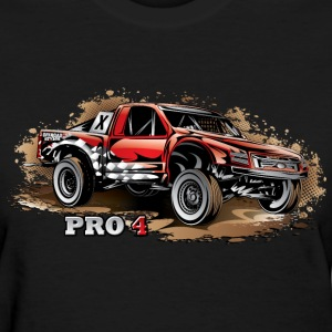 Pro4 Race Truck Red Women's T-Shirts - Women's T-Shirt