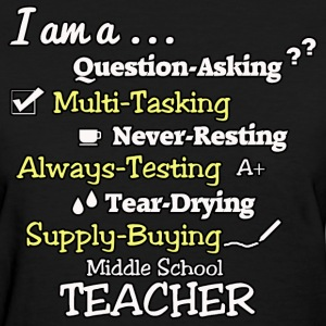 Middle School Teacher - Women's T-Shirt