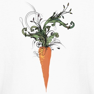floral carrot Kids' Shirts - Kids' Long Sleeve T-Shirt