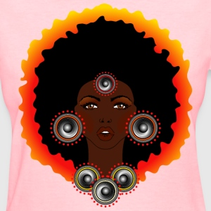 AFROCENTRIC WOMAN OF MUSIC - Women's T-Shirt