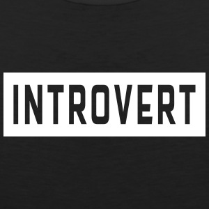 Introvert Tank Tops - Men's Premium Tank