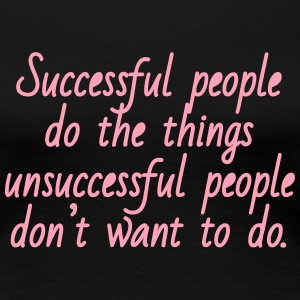 Successful People - pink - Women's Premium T-Shirt