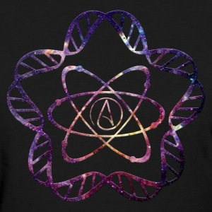 Atheist Star DNA - Ladies - Women's T-Shirt