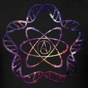 Atheist Star DNA - Men's T-Shirt
