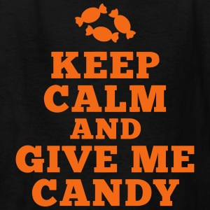 keep calm give me candy Kids' Shirts - Kids' T-Shirt