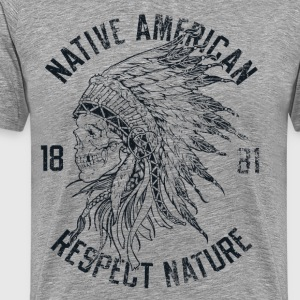 Native American T-Shirts - Men's Premium T-Shirt