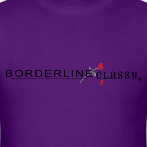 Men's T-Shirt  - Borderline Classy Logo - Men's T-Shirt